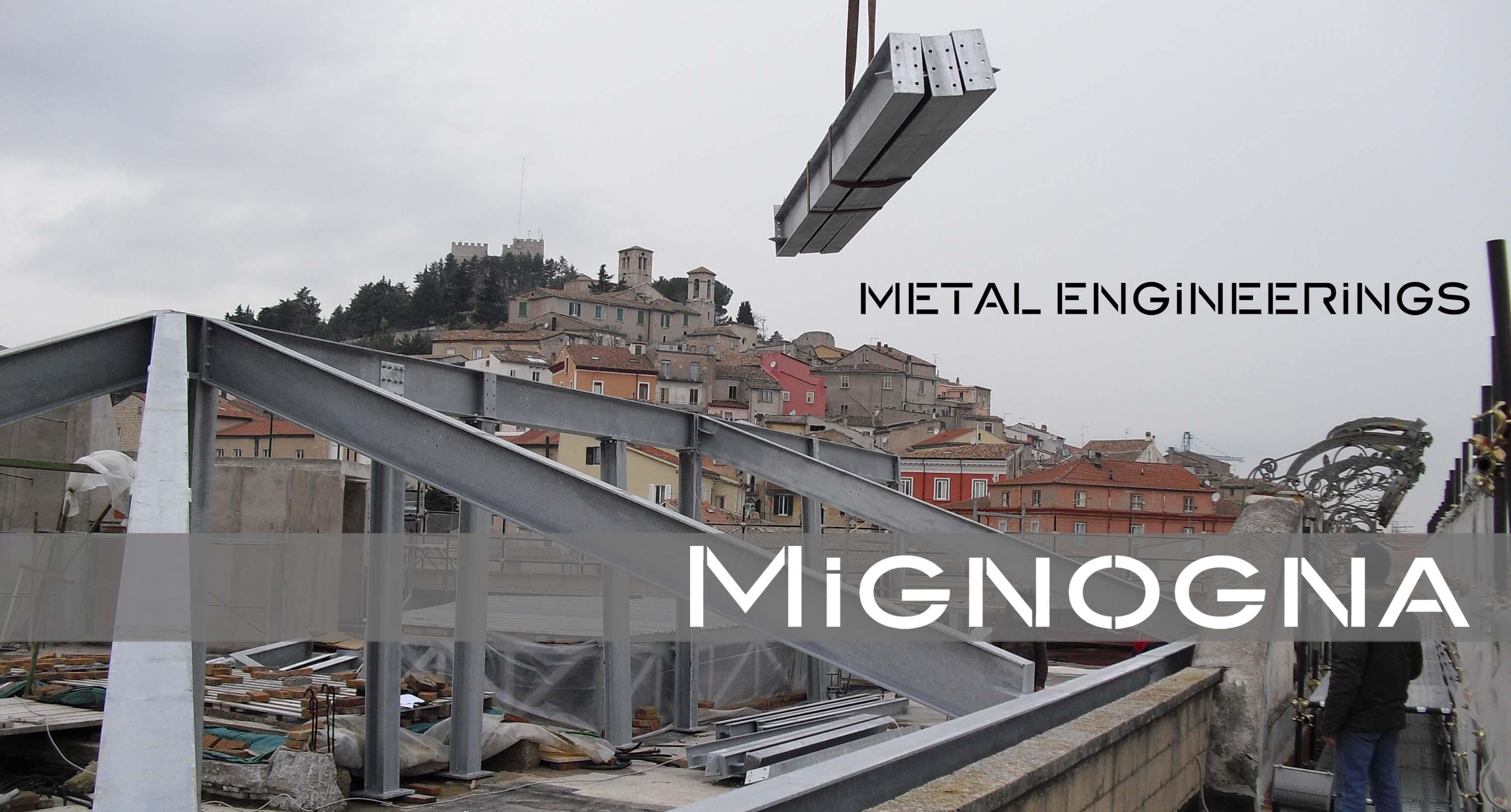 struttura copertura in acciaio