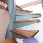 dettaglio alzato gradino; dettaglio collegamento gradino elide