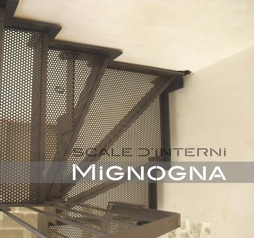 Scala pane in lamiera microforatamignogna srl mignogna srl for Garage di costruzione in acciaio con appartamento