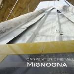 sistema di fissaggio parete ventilata di okite su copertura in acciaio