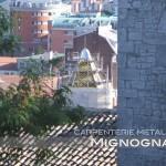 la guglia in restauro vista da Slargo Chiesa S.Giorgio