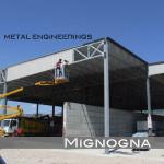 struttura carpenteria in acciaio