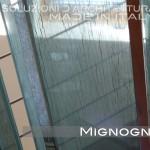 gradini in vetro con inserti in seta