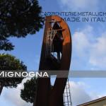 campanile di Campomarino Lido in acciaio corten
