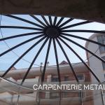 design italiano per i cupolini in acciaio e policarbonato