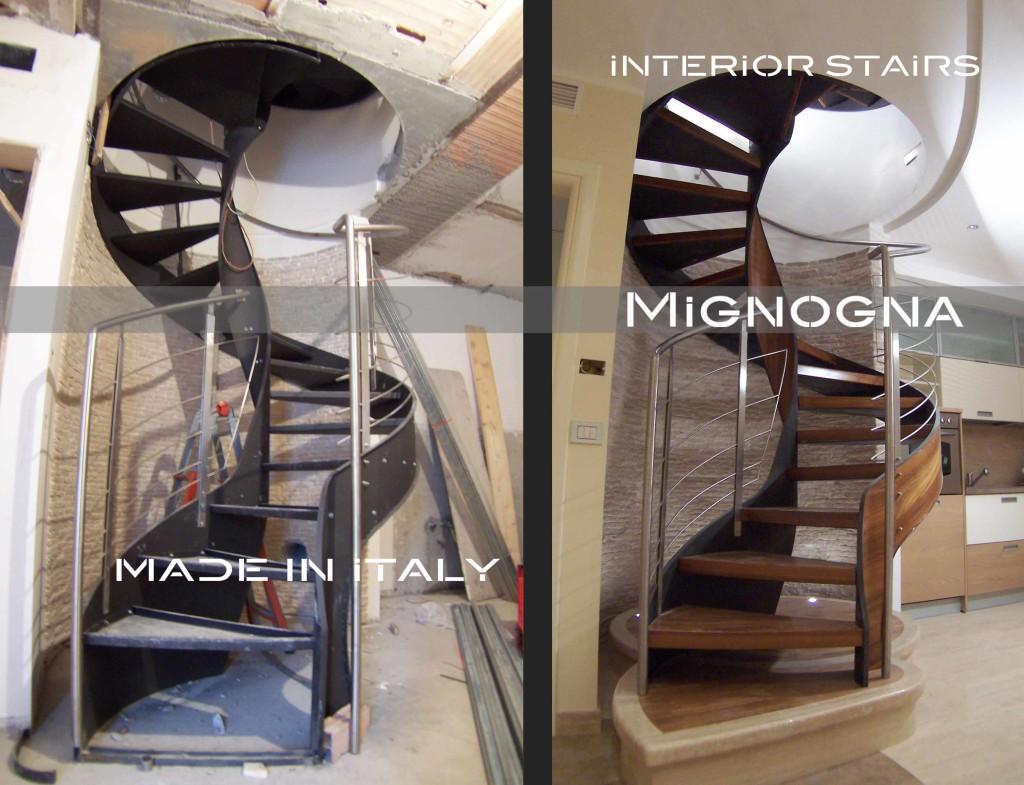 Scala da interno chiocciola fiorimignogna srl mignogna srl - Ikea scale da interno ...