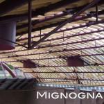 copertura palazzetto dello sport palaunimol capriate in tubolari in acciaio strutturale