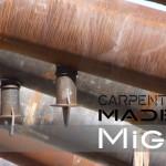 travi in acciaio strutturale sezione circolare per la copertura palaunimol campobasso