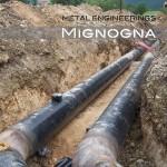 Raccordo adduzione acquedotto tubature in pvc
