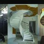 fasi costruttive di scala elicoidale Mignogna